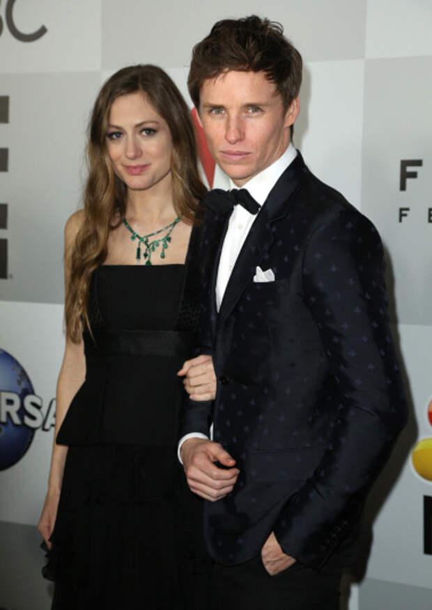 Эдди Редмэйн и его супруга Ханна Багшо.