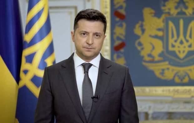 Зеленский в обращении к нации заявил о предложении Путину встретиться на Донбассе