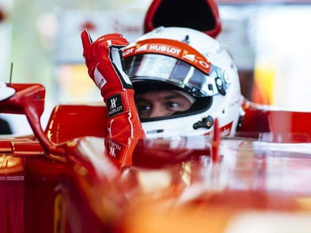 Формула 1: Феттель начал работать в Ferrari