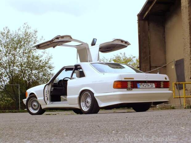 Mercedes-Benz 500 SGS Gullwing для шейхов из 80-х  gullwing, mercedes, mercedes-benz, тюнинг