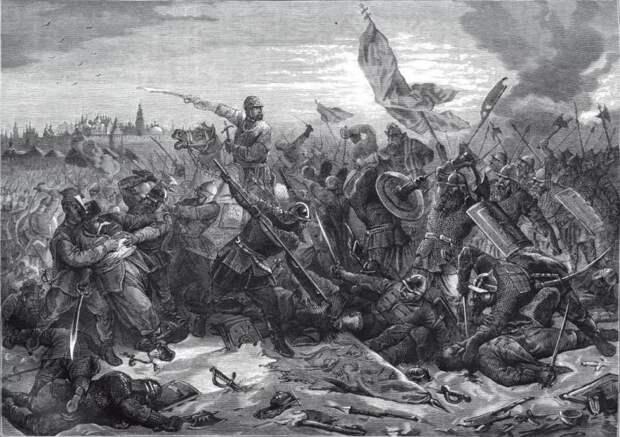 Московская битва 24 августа 1612