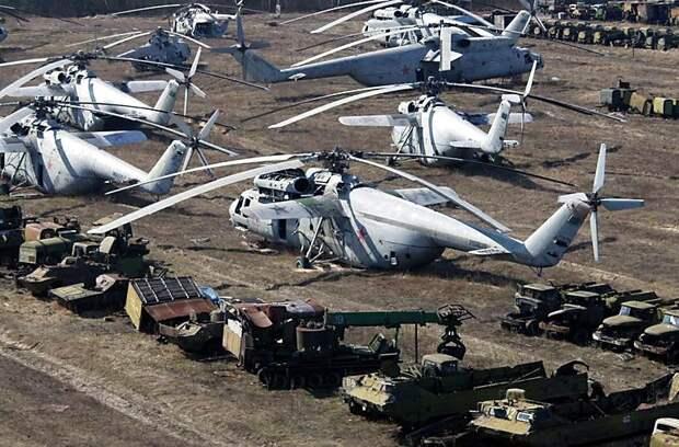 Современный Голиаф — советский вертолет Ми 6