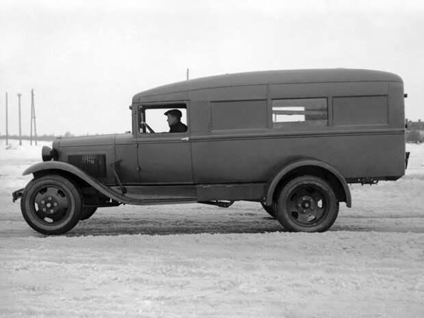 ГАЗ-55 автомобили, газ, фоторепортаж