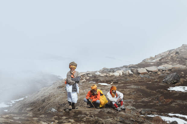 Паломничество Садху. Путешествие к озеру Госайкунда