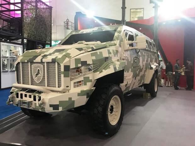 разведывательная машина turranga, индонезия, indo defense 2018, бронетехника