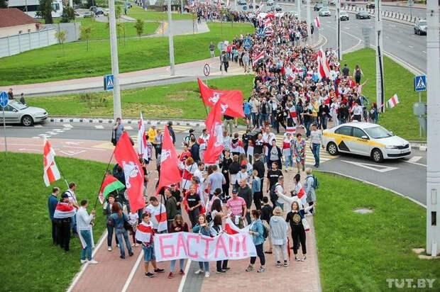 Митинг в Минске 05.09.2020