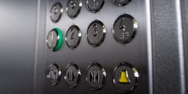 В доме на улице Генерала Белобородова лифт начал подниматься выше второго этажа