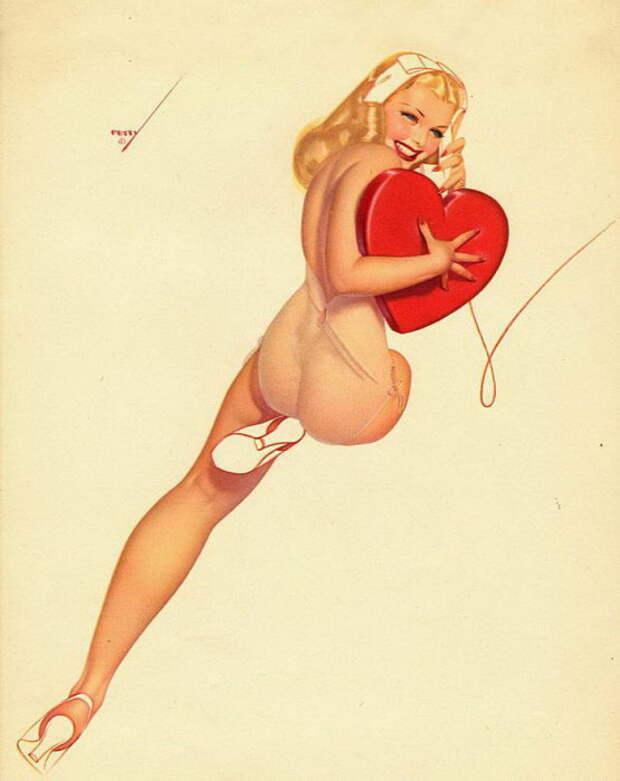 Сексуальные красотки в работах Альберта Варгаса (Alberto Vargas).