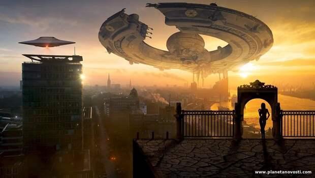 Профессор из США заявил, что НЛО - это «круизные лайнеры» из будущего