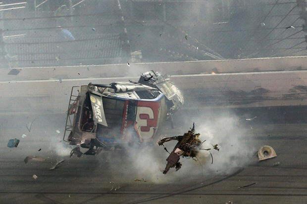Аварии на гонках