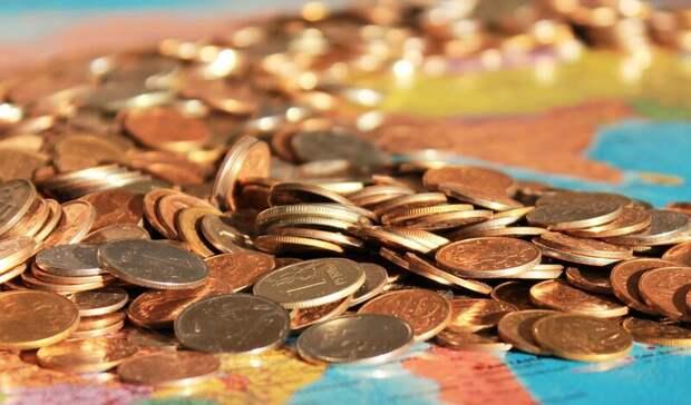 Рубль просел на10 копеек кмировым валютам