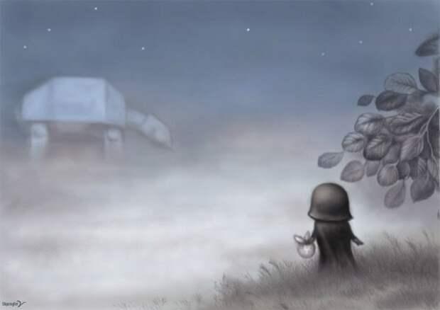 Вейдер в тумане!