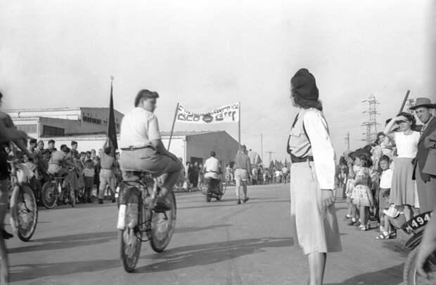 Первомайский Парад в Тель-Авиве 1947