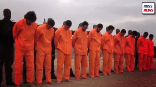 Сирийцы показали головорезам ИГ как надо казнить пленных (видео)