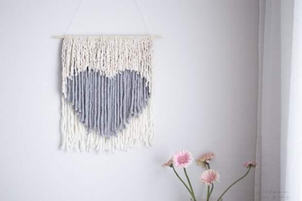 Сердце на стене (Diy)