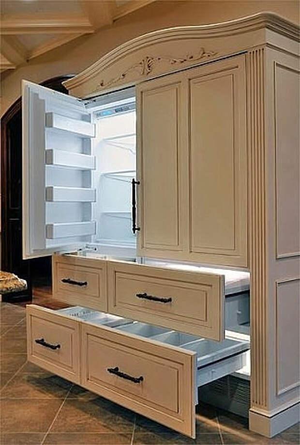 шкаф холодильник идеи (324x480, 131Kb)