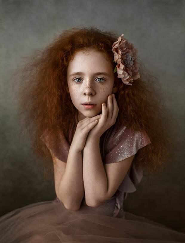 Лучшие работы с конкурса детского портрета