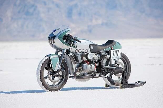 Русский мотоцикл «Урал» установил рекорды в Штатах