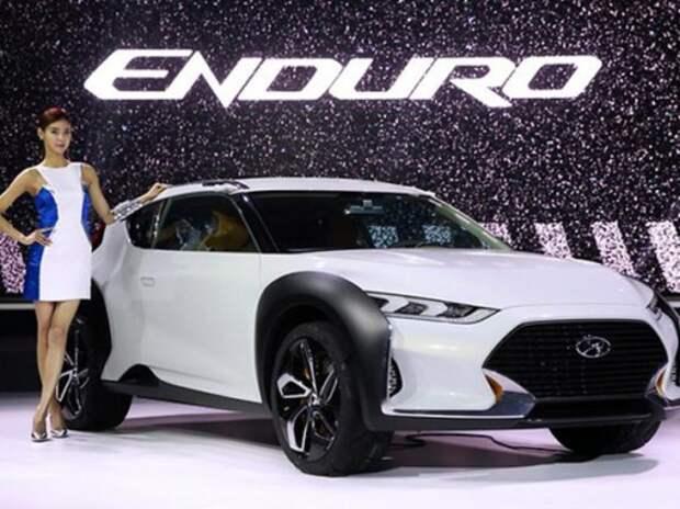 Hyundai представила в Сеуле возможное будущее Veloster