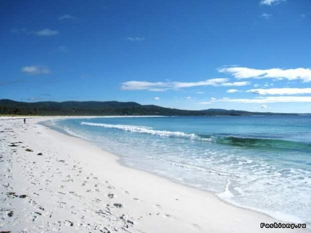 Мой любимый пляж Binalong Bay