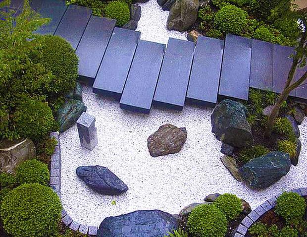 Японский сад камней: принципы создания и идеи дзен сада