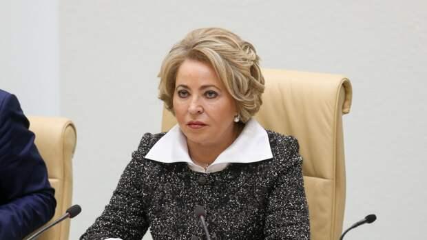 Матвиенко анонсировала поставки вакцины «Спутник V» в Азербайджан