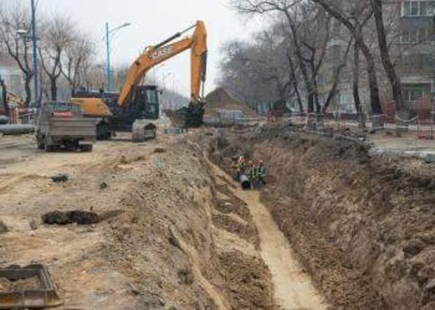 Дороги и дворы ремонтируют в Благовещенске