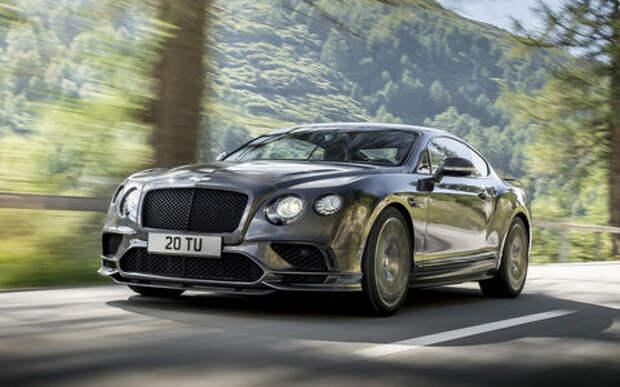 Bentley показала рекордный заезд на Пайкс-Пик глазами пилота