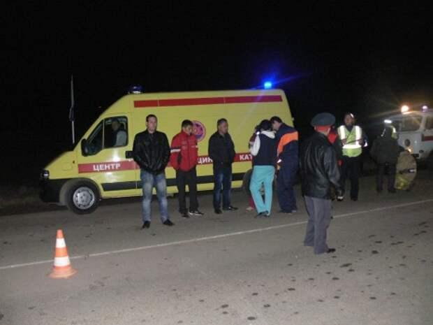 Крупная авария в Тюменской области