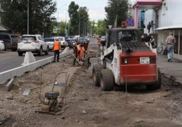 Велодорожки, дополнительные тротуары и газоны появятся на улице Горной в Иркутске