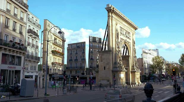 Париж как декорации для кино