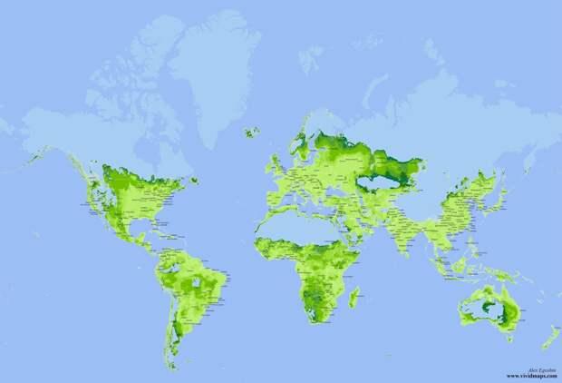 Обитабельная площадь, борщевичная Россия и кому выгодно глобальное потепление
