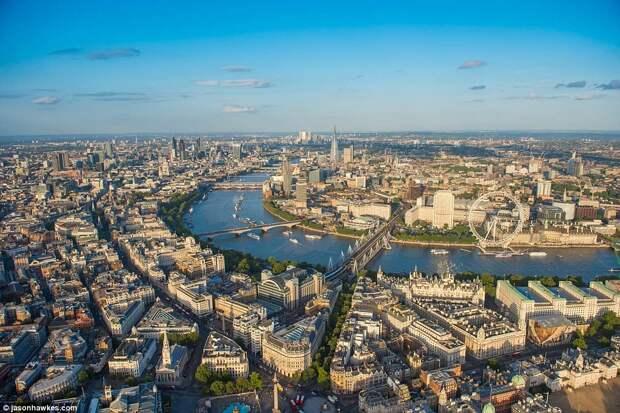Невероятные аэрофотографии Лондона, от которых захватывает дух