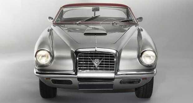 Редкие автомобили: Fiat 8V Coupé Vignale