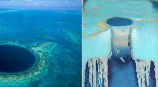 Тайна гибели Майя: что скрывает Большая голубая дыра