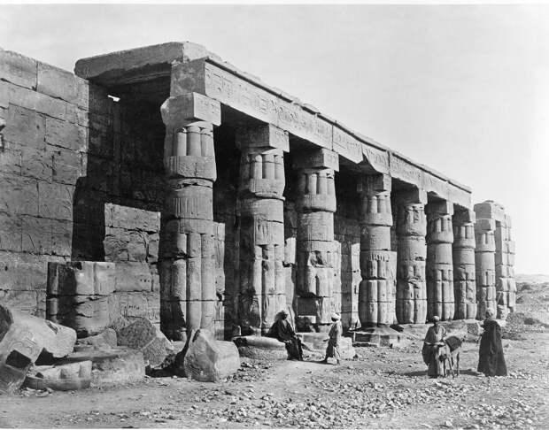 Эль-Гурна. Храм Хатшепсут