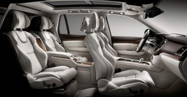 В Шанхае дебютирует 4-местный Volvo XC90 Excellence