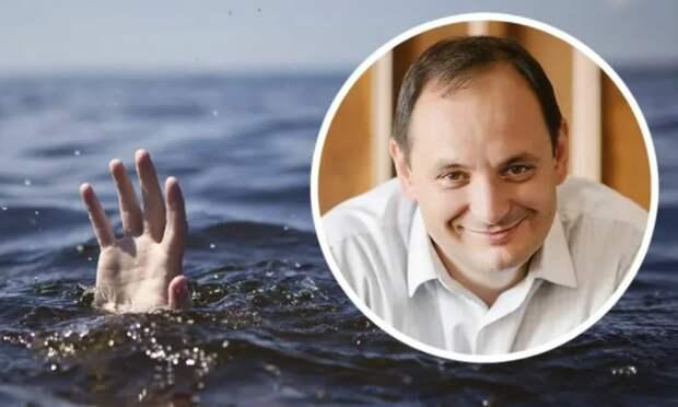 Украинский мэр посмеялся над утонувшим и велел тому всплыть самому