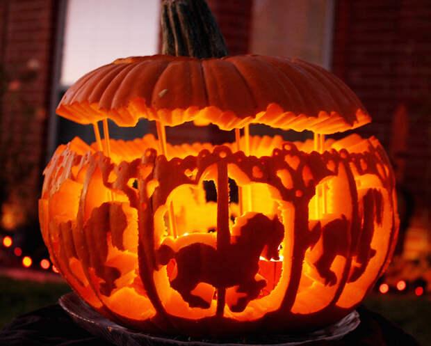 20 способов креативно вырезать тыкву на Хэллоуин