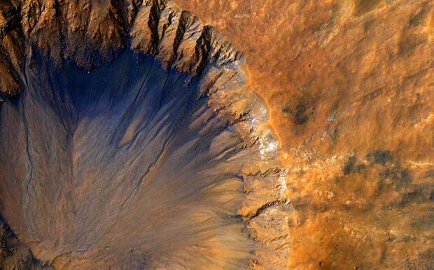 Марсианские пейзажи