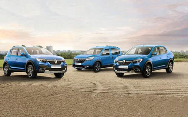 В России стартовали продажи нового кросс-седана Logan Stepway и обновленного Sandero Stepway