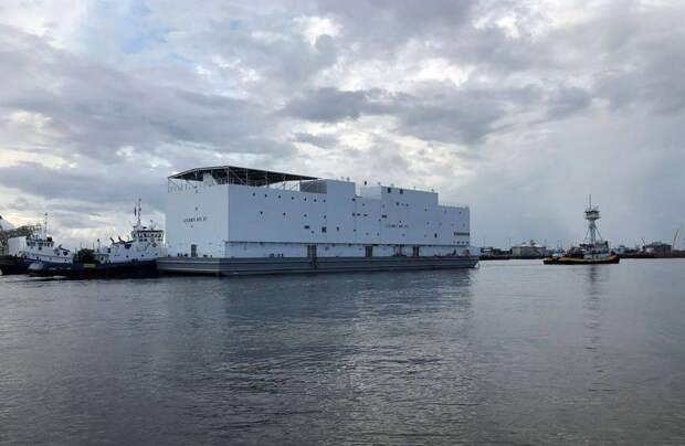 «Похож на Ноев ковчег»: в американской прессе обсуждают новый корабль ВМС