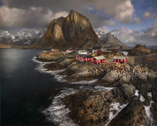 Неповторимые природные ландшафты Норвегии  интересное, фото, фотоподборка