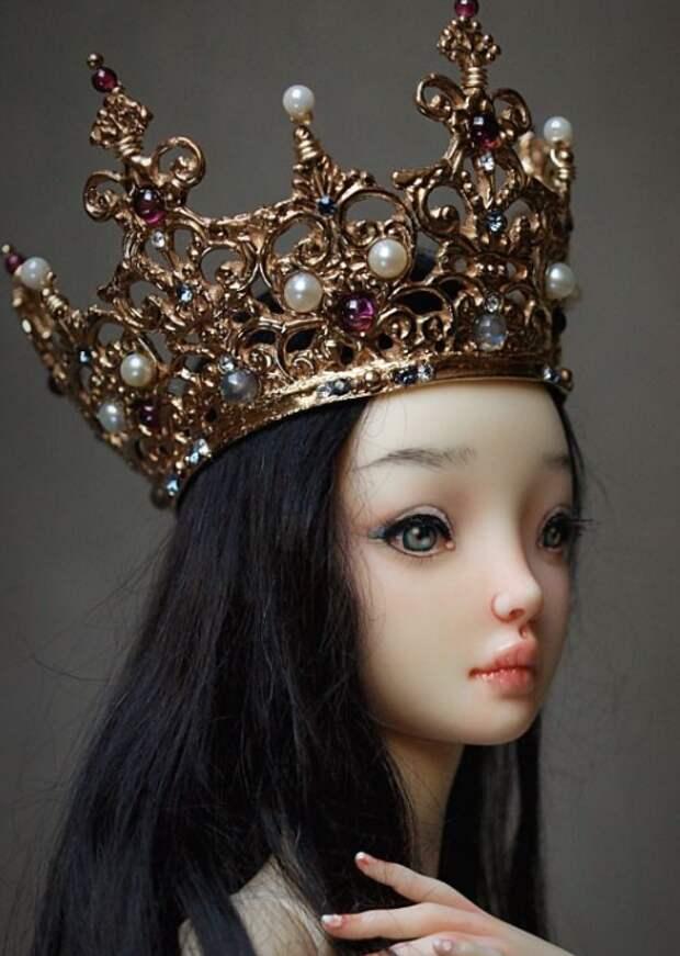 Волшебные куклы Марины Бычковой. Восхищает мастерство и фантазия!