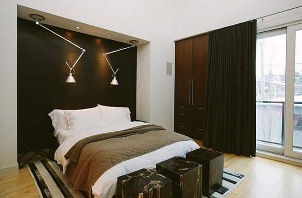 22 варианта оформления мужской спальни от дизайнеров