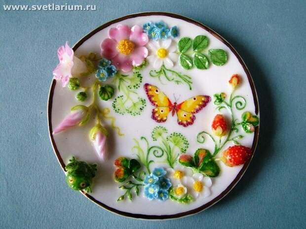 Цветочный фарфор Светланы Орешкиной. Часть 2