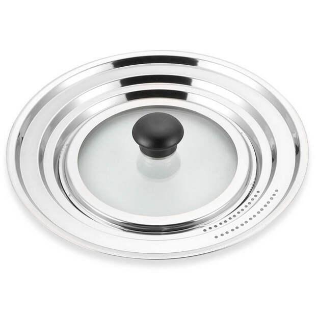 28. Универсальная крышка, которая подойдет к любой кастрюле готовка, кухня, советы