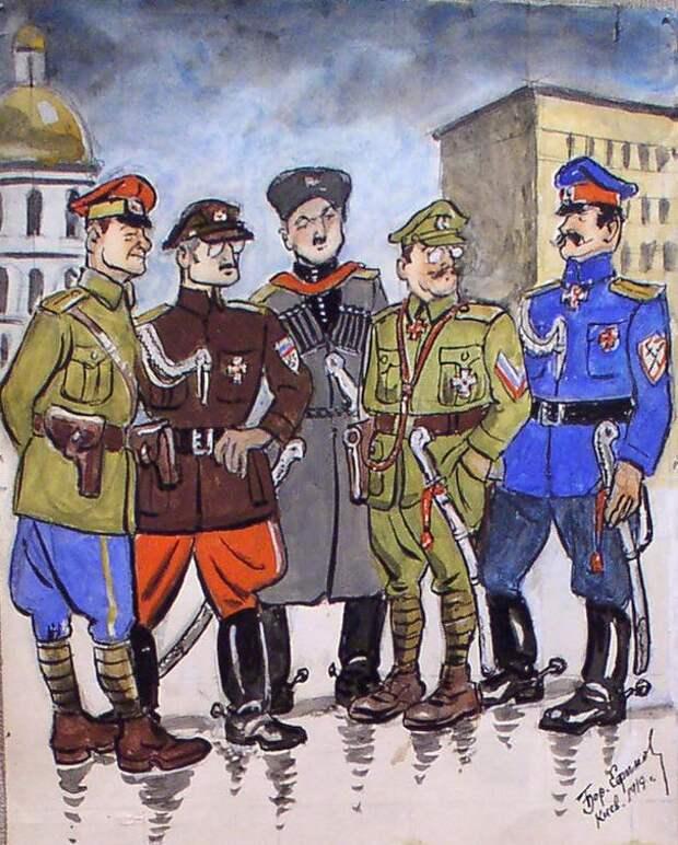 Белый террор в Новороссийске. Газета «Правда», октябрь 1918 года.