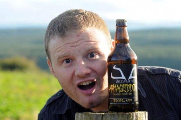 6. «Армагеддон» — самое крепкое в мире пиво алкоголь, факты