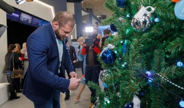 Всероссийский благотворительный проект «Ёлка желаний» продолжается в Екатеринбурге